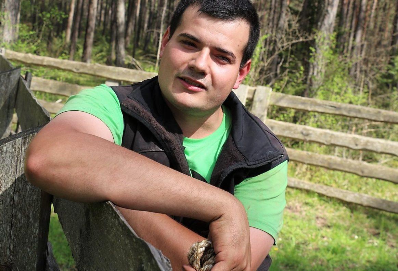 """""""Hat die Kuh mal eine schlechte Erfahrung gemacht"""", vergisst sie das nie, sagt Jungbauern-Obmann Michael Wallnöfer. (Foto: Knut Kuckel)"""