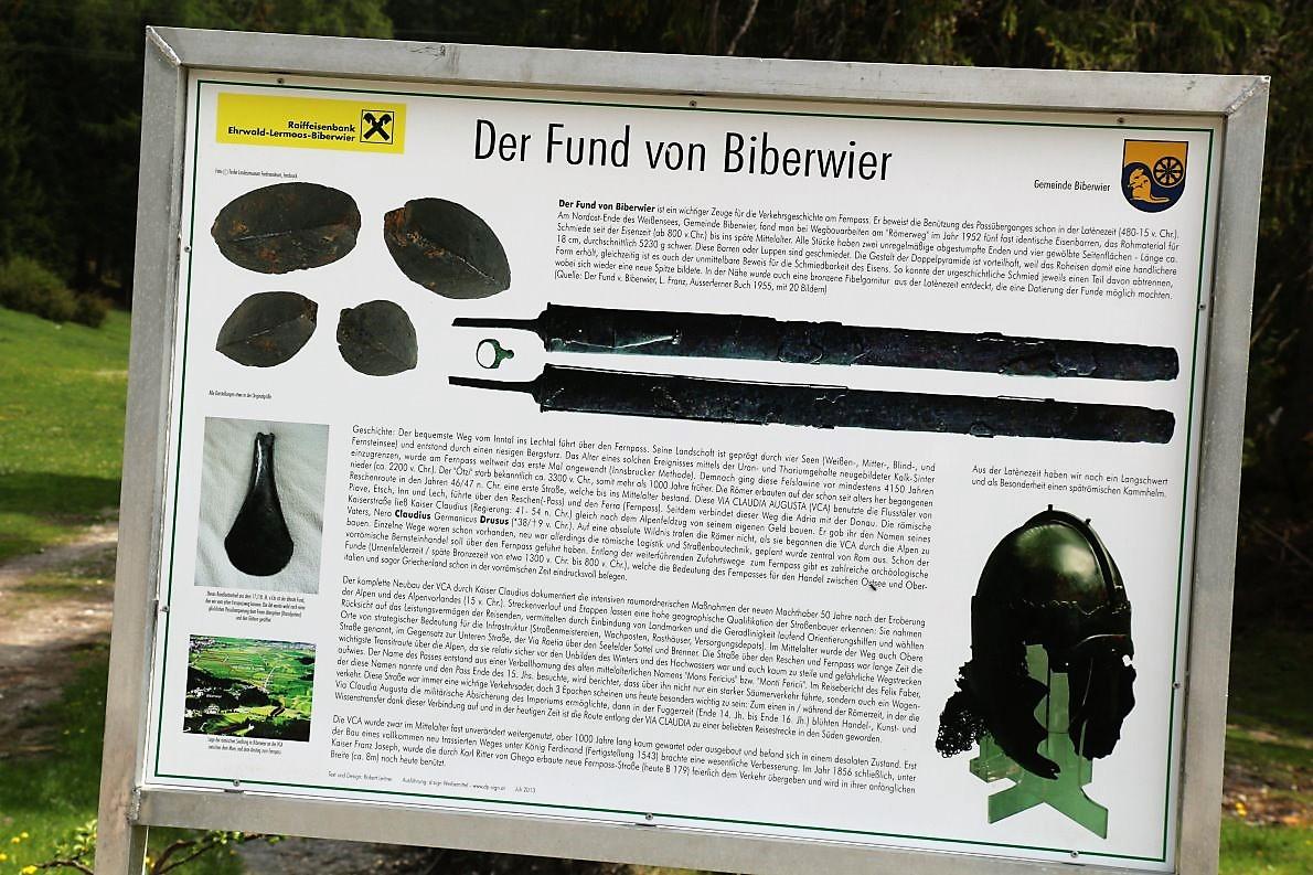 Der Fund von Biberwier. (Foto: Knut Kuckel)