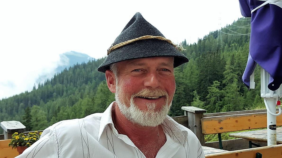 Christian Soraperra ist der neue Hüttenwirt auf dem Marienberg. Foto: Knut Kuckel