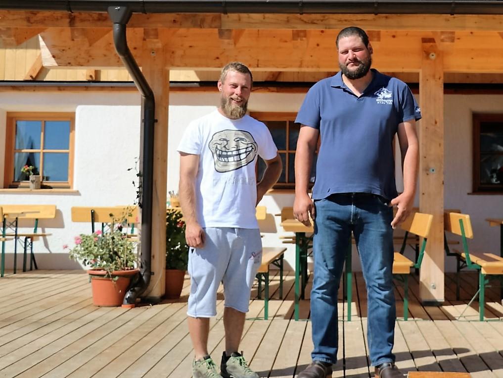 Martin Sporer und Markus Pienz. (Foto: Knut Kuckel)