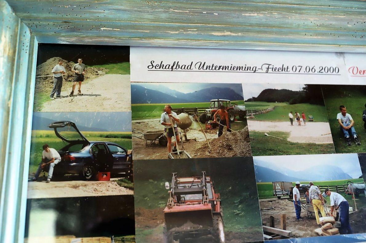 Das Schafbad wurde im Juni 2002 seiner Bestimmung übergeben. (Foto: Knut Kuckel)