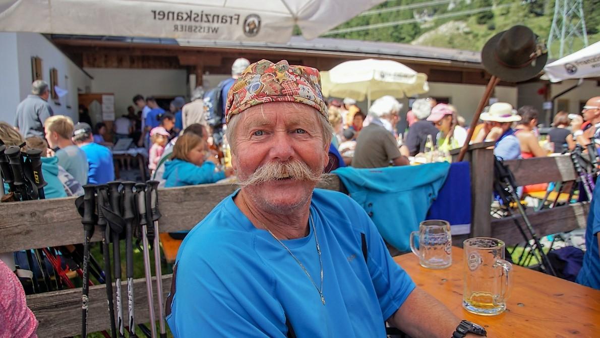 Almfest und Bergmesse auf der Marienbergalm im August 2018 (Foto: Andreas Fischer)