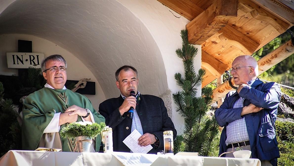 """Nur zwei Mal musste wegen Schlechtwetter abgesagt werden"", erzählt Almobmann Benedikt van Staa. Foto: Andreas Fischer"