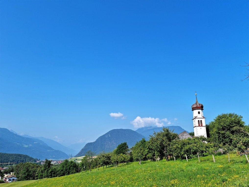 St. Georgskirche, Obermieming. (Foto: Knut Kuckel)